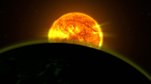 Exoplanet atmospheres and the possibilities of finding life.