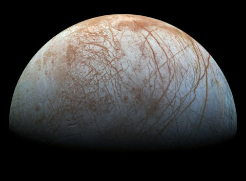 No Life Under Ice at Europa?