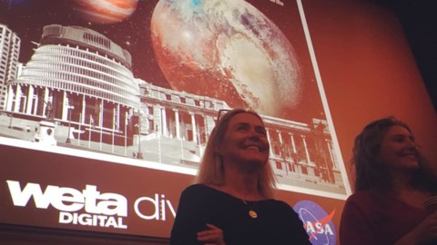 Daniella Scalice, Education and Communication Lead for the NASA Astrobiology Program, visits New Zealand