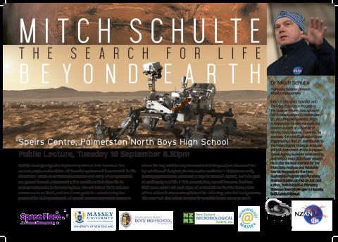 Dr Mitch Schulte, NASA
